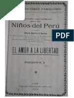 Elvira Garcia y Garcia - Amor a La Libertad