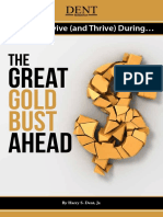 How to Survive and Thrive Great Gold Bust Ahead 2015
