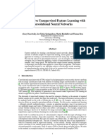 5548 Discriminative Unsupervised Feature Learning With Convolutional Neural Networks