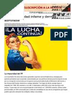 Ríos, Víctor. 26-J. Impunidad Infame y Derrota Admirable, 27-6-16