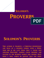 Solomons-proverbs- Very Clear Summary