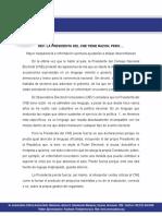 OEV Comunicado Discurso TL Membrete PDF