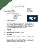 PC Agenda  07-13-16