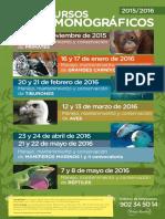 Calendario Cursos Monograficos 2015-16