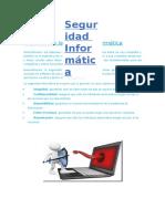Objetivos de La Seguridad Informática