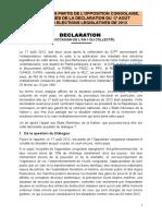 Declaration an 1 Du Collectif
