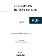 Discourses on Islamic Way of Life 10 by Sheikh Mufti Taqi Usmani