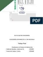 Trabajo Finasl Fundamentos de Sistemas de Informacion