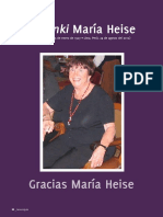 Homenaje Maria Heise