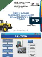 96203140 Diseno Plan Mantenimiento Equipos Payloaders Komatsu Cvg Venalum