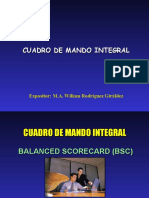 BSC Cuadro de Mando Integral