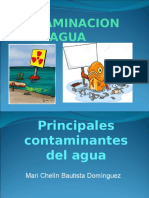 Contaminacion de El Agua