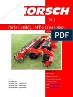 MT-Series Joker Parts Catalog 2013