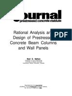 Reference #24 - JR-317 Design of Beams Columns and Panels