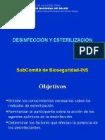 05. Desinfección y Esterilización