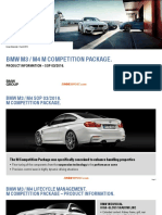 BMW M3 M4-M Competition Package