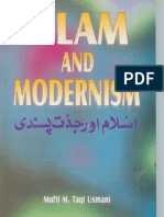 Islam & Modernism by Sheikh Mufti Taqi Usmani