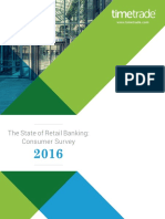 TimeTrade State of Banking Consumer