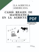 Casos Reales de Matematica en La Gricultura