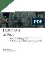 Heritage History 1920