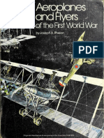 Aeroplanes and Flyers of the First World War