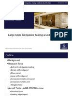 Large Scale Composites Testing