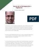 Conciencia Inportancia de La Introspeccion d15mayo20161449pm