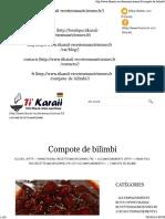 Compote de Bilimbi