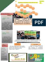 Modelo de Jornal Escolar
