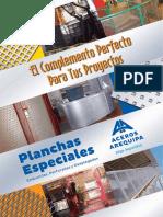 Catalogo Planchas Especiales