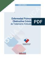 Guía Clínica de Enfermedad Pulmonar Obstructiva Crónica de Manejo Ambulatorio