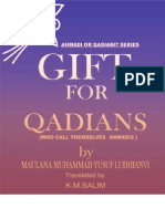 Gift for Qadians by Sheikh Muhammad Yusuf Ludhyanvi (r.a)