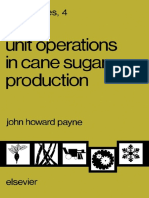 Sugar Series 4 - Unit Operations in Cane Sugar Production (Elsevier, 1982)