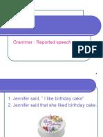 Reported Speech Unit 9