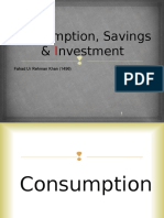Consumption and Banking