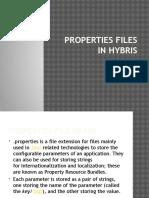 hybris propety files