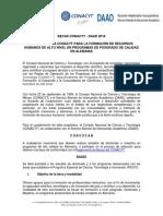 Convocatoria Becas CONACYT-DAAD 2016