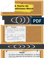 A teoria do subjetivismo moral