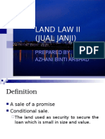 LAND LAW II (Jual Janji-July 10)