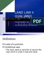 LAND LAW II (Jual Janji-July 10)