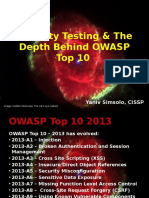 OWASPIL 2014-06-16 OWASP Top 10 Security Testing