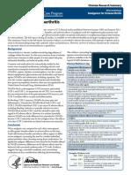 Analgesics for Osteoarthritis