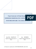Note preliminaire expertise A45