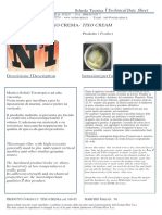 n1 Technical Sheet Solid Cream