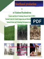 Cassava Bioethanol Production