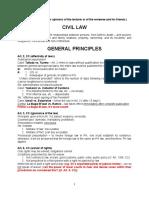 Civil Law (Persons)