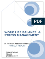 Worklife Balance and Stress Management