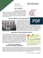 Renewal Vietnam Visa Exemption