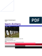 Archery Training Programs