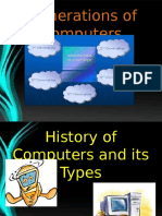 History and Types of Computer